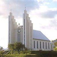 Akureyri church shore excursion Iceland