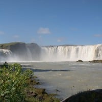 Godafoss Waterfall, Shore Excursions in Akureyri, Iceland