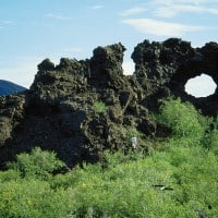 Dimmuborgir day tour for cruise ships in Akureyri