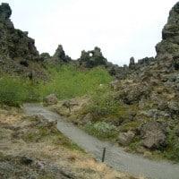 Dimmuborgir, Akureyri day tour for cruise ships, Jewels of the North