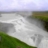 Day tour, Gullfoss Waterfall. Shore excursion