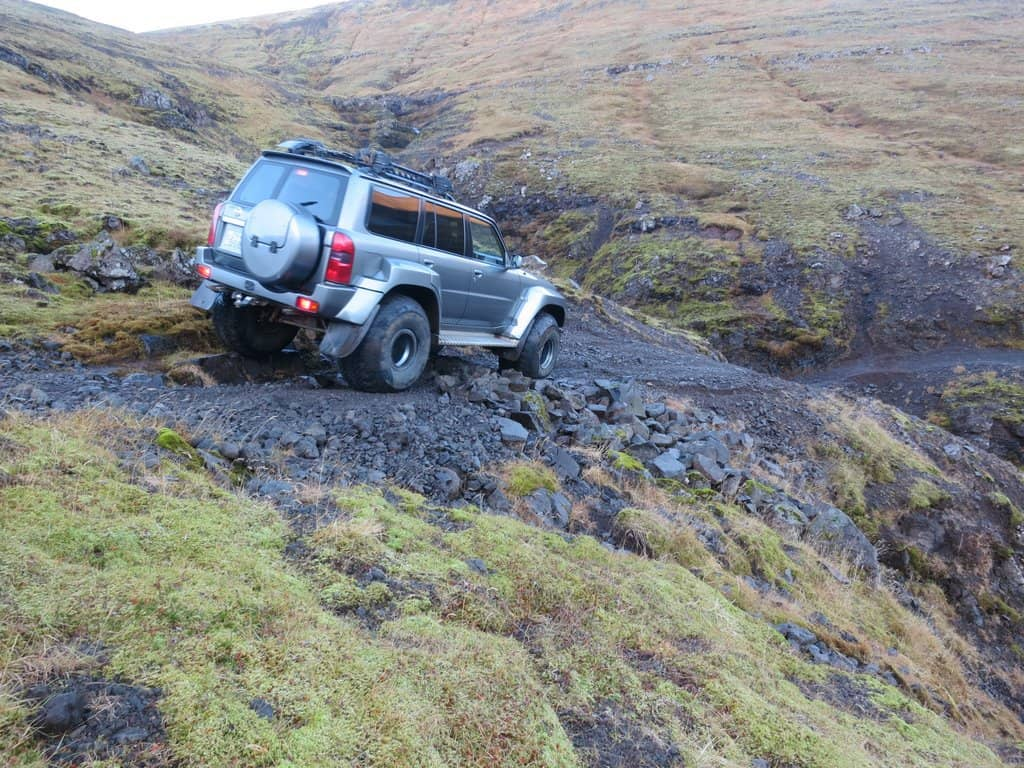 Adventure 4x4 day tour in Iceland