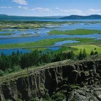 Shore excursion in Thingvellir National Park, Iceland