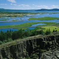 Shore excursion in Thingvellir National Park, Iceland