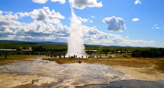 Geysir, Golden Circle, shore excursion, day tour, Reykjavik, Iceland
